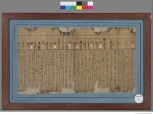Papyrus Cadet. Livre des Morts de Padiamonnebnésouttaouy. Egyptien 8